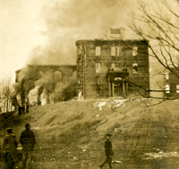 College Hall Fire Image